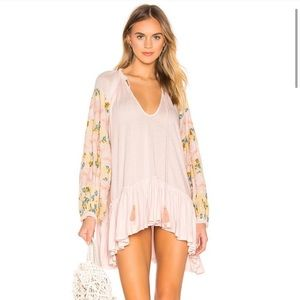 NWT Free People Mix it up tunic dress S